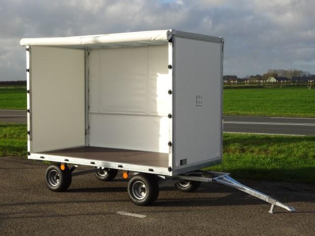 Titan Intern Transportwagen 250x125x160 (lxbxh) 1000kg 50cm laadvloer