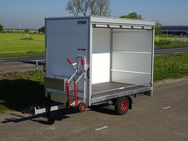 Titan Intern Transportwagen 270x160x195cm 2500kg netto rolluik DIN oog