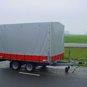 Gebruikte Titan V20 met huif afm. 275x165x150cm 2000kg